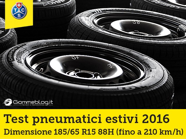 Gomme Auto TCS 2016 Test 185/65 R15