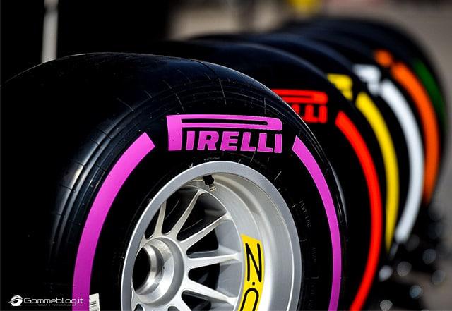 Pirelli Gomme F1 2016