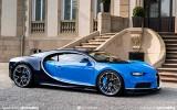 Bugatti Chiron: 1500 CV governati da Gomme Michelin