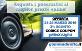Offerte Gomme Estive: Sconto Gommadiretto IT 2017
