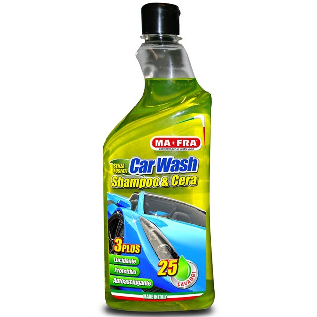 MA-FRA CAR WASH SHAMPOO & CERA