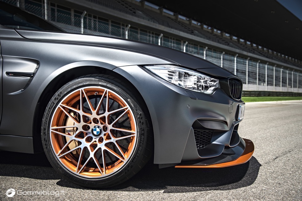 Pneumatici BMW: Michelin Pilot Sport Cup 2 per la BMW M4 GTS