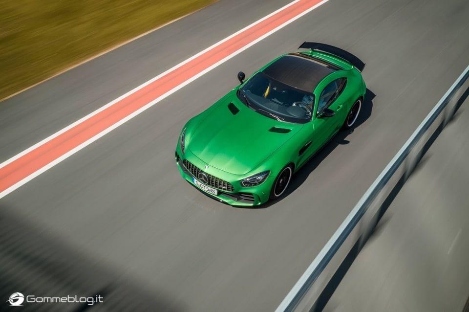 AMG GT R: 585 CV da domare con Pneumatici Michelin Pilot Sport Cup 2 6