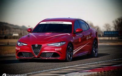 Alfa Romeo Corsi di Guida Evoluta 2016. In Pista con la Giulia Quadrifoglio