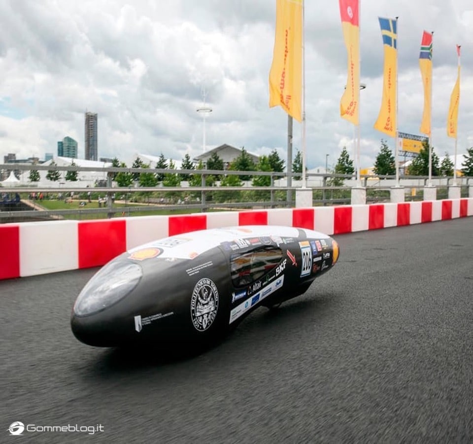 IDRAkronos, veicolo che consuma meno al mondo è equipaggiato con gomme speciali Michelin
