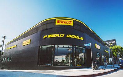 Pirelli Inaugura a Los Angeles il P Zero World