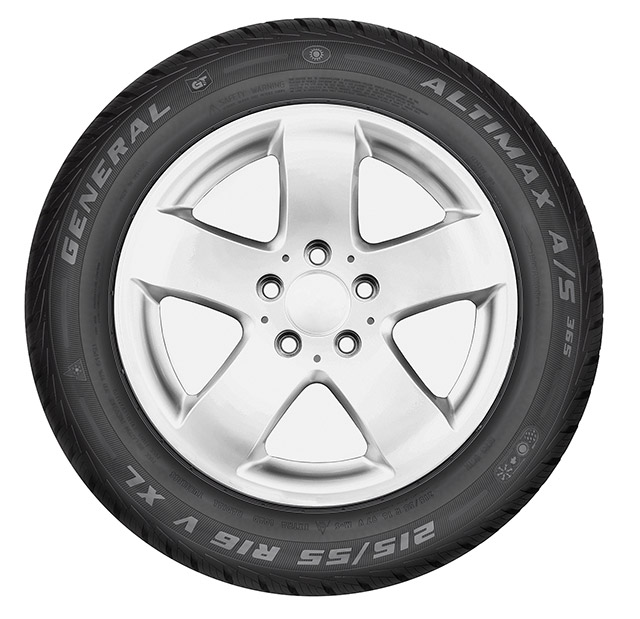 "General Tire AllSeason ""Altimax A/S 365"": Nuovo Pneumatico 4 Stagioni 1"