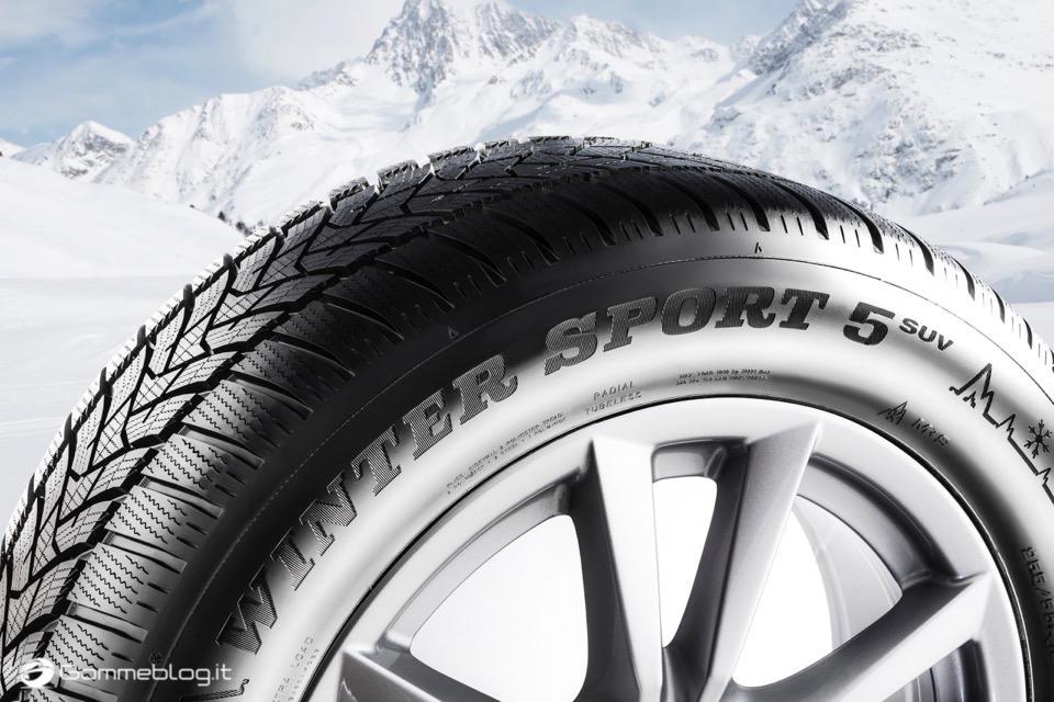 Dunlop Winter Sport 5 SUV: Nuovi Pneumatici Invernali 2017 SUV 1
