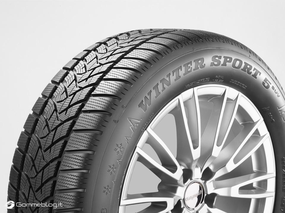Dunlop Winter Sport 5 SUV: Nuovi Pneumatici Invernali 2017 SUV 12