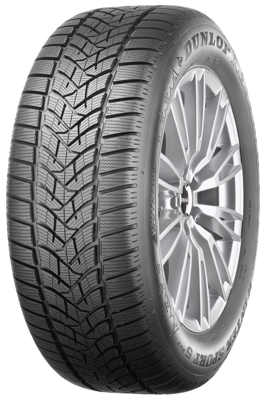 Dunlop Winter Sport 5 SUV: Nuovi Pneumatici Invernali 2017 SUV 3