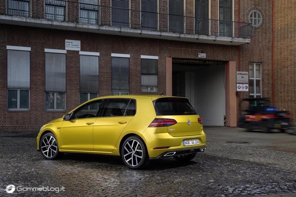 Nuova Volkswagen Golf RESTYLING 2017 4