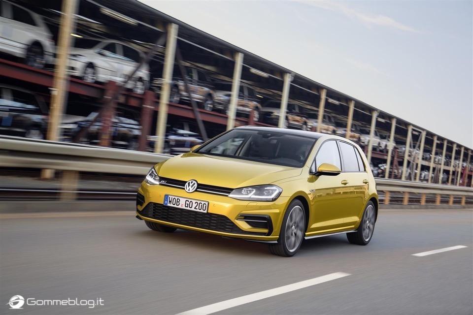 Nuova Volkswagen Golf RESTYLING 2017 3