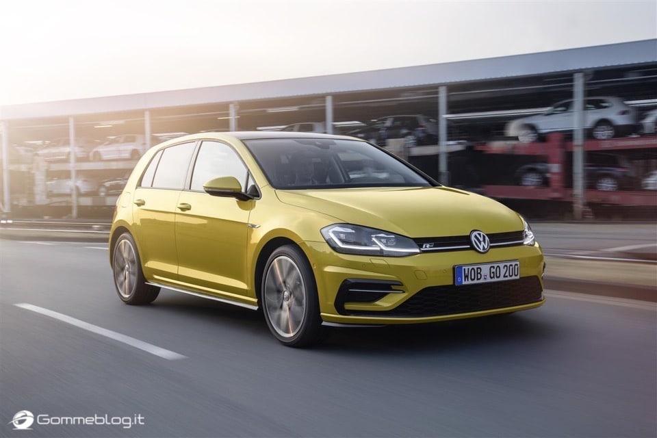 Nuova Volkswagen Golf RESTYLING 2017