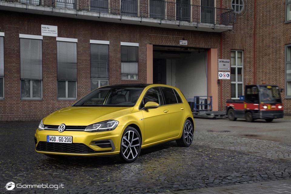 Nuova Volkswagen Golf RESTYLING 2017 1