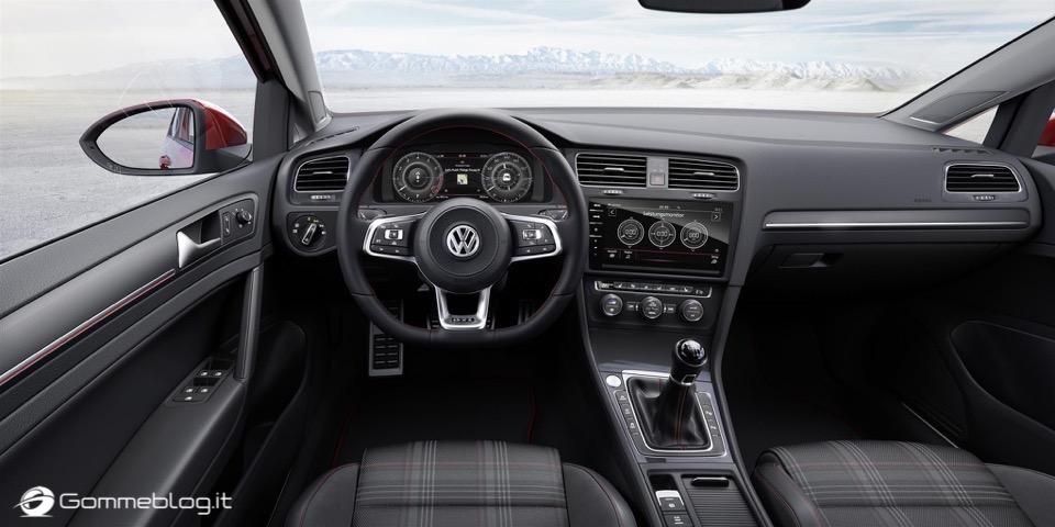 Nuova Volkswagen Golf RESTYLING 2017 9