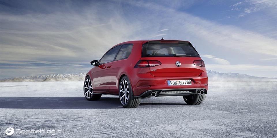 Nuova Volkswagen Golf RESTYLING 2017 8