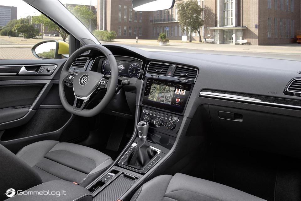 Nuova Volkswagen Golf RESTYLING 2017 5