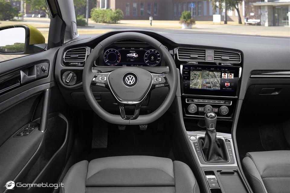 Nuova Volkswagen Golf RESTYLING 2017 12
