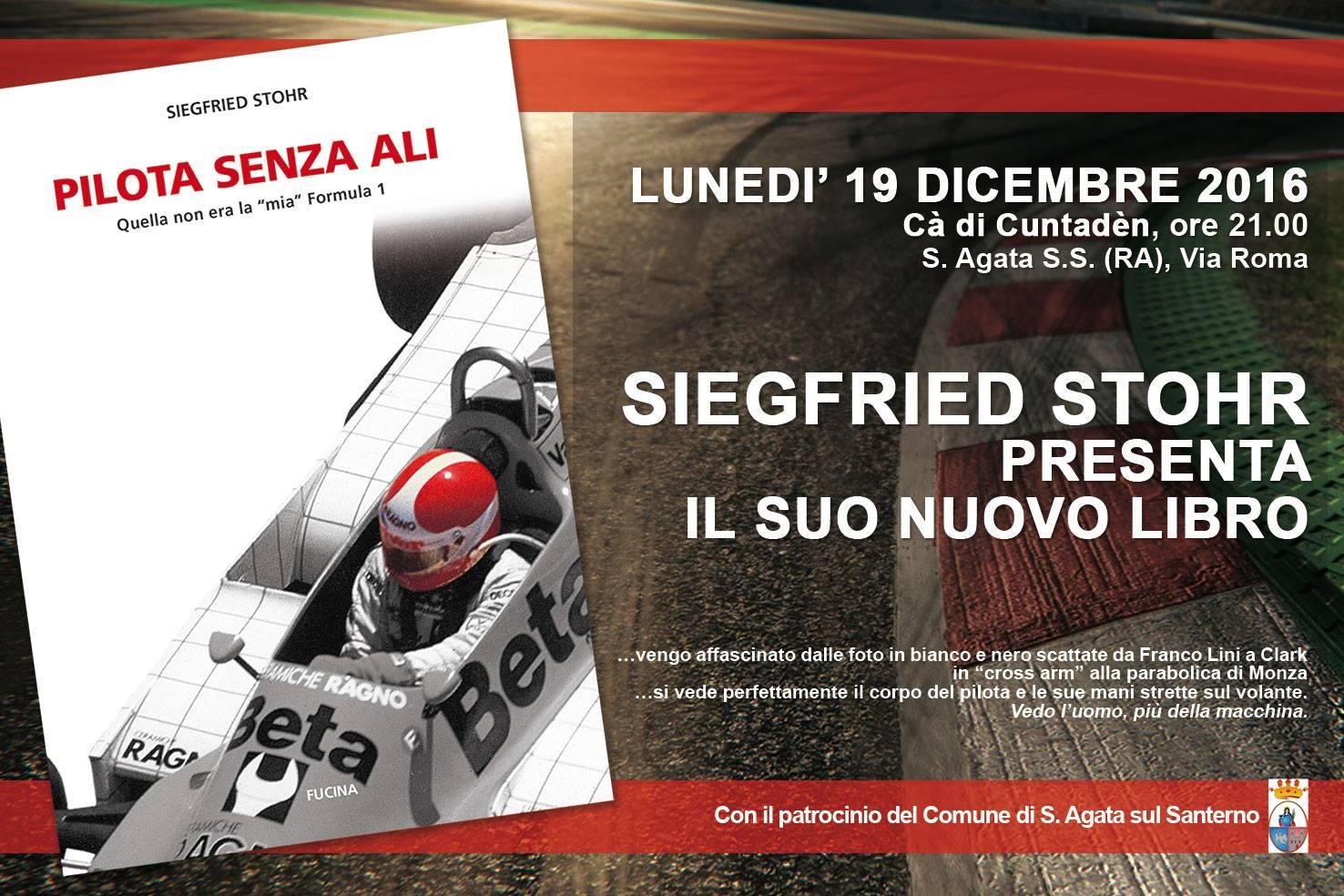 """Il nuovo libro di Siegfried Stohr: Pilota senza ali – Non era la """"mia"""" Formula 1"""