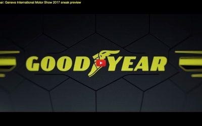 Goodyear svela Pneumatici Concept al Salone Ginevra 2017