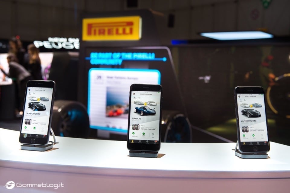 Pirelli Connesso: nuova gomma auto intelligente e connessa allo smartphone 7