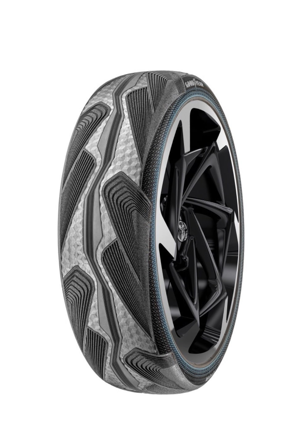 Gomme Goodyear CityCube: Pneumatico Concept per Toyota i-TRIL 1