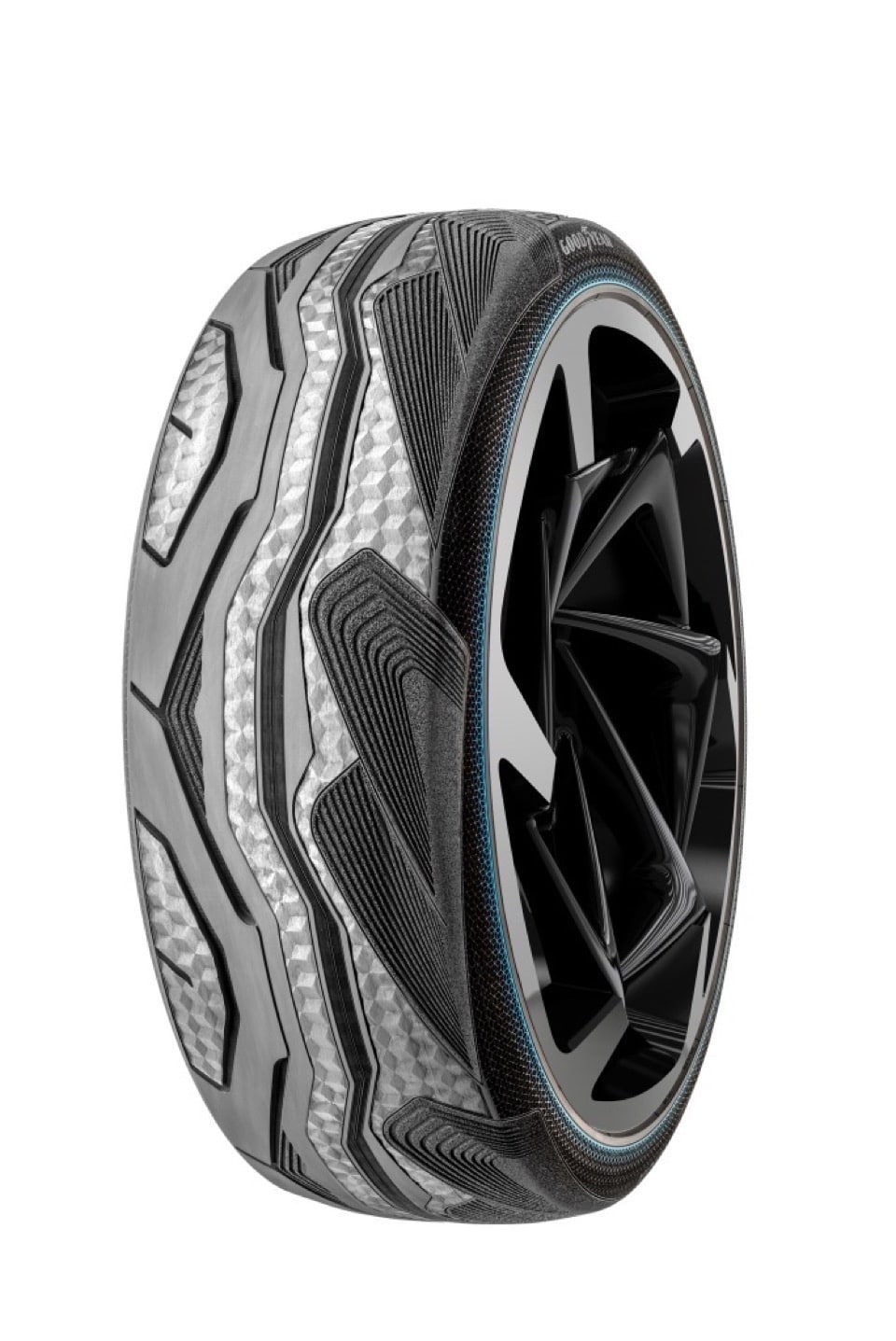 Gomme Goodyear CityCube: Pneumatico Concept per Toyota i-TRIL 3