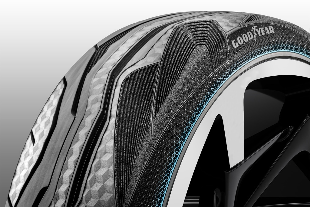 Gomme Goodyear CityCube: Pneumatico Concept per Toyota i-TRIL 6