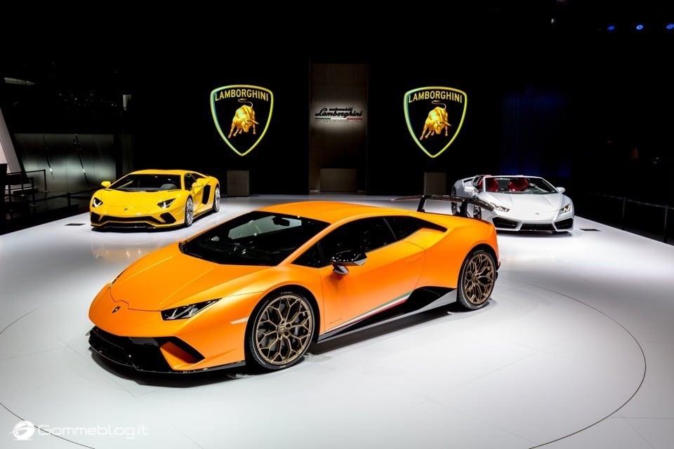 Lamborghini Huracan Performante e Pirelli: Nurburgring Record 11