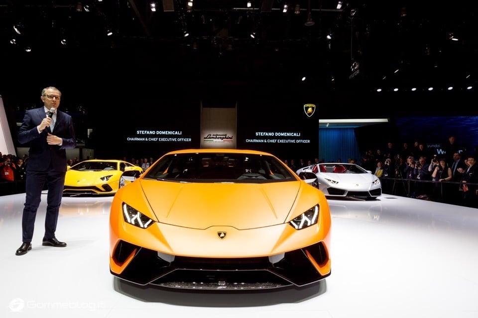 Lamborghini Huracan Performante e Pirelli: Nurburgring Record 5