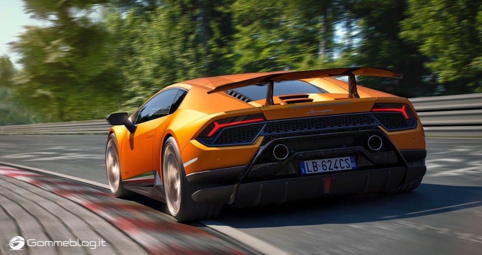 Lamborghini Huracan Performante e Pirelli: Nurburgring Record 6