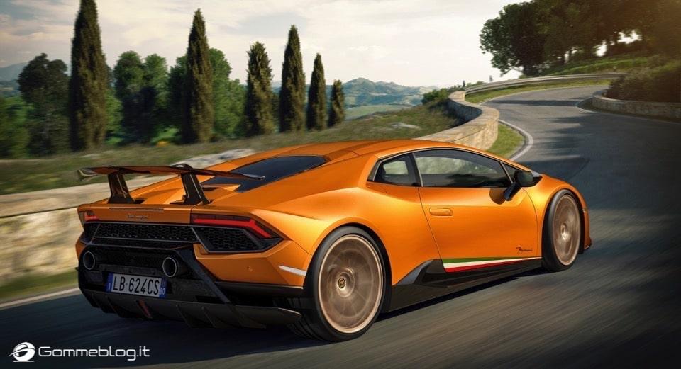 Lamborghini Huracan Performante e Pirelli: Nurburgring Record 7