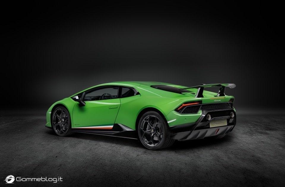 Lamborghini Huracan Performante e Pirelli: Nurburgring Record 9