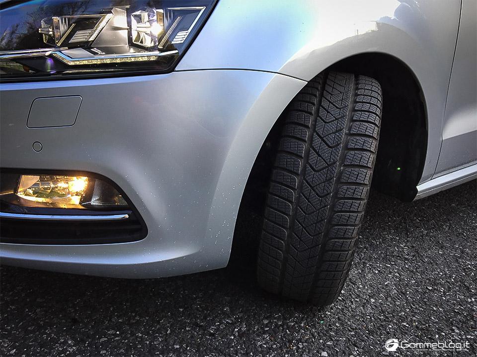 Pneumatici Invernali VW Polo: Test Gomme Pirelli Sottozero 3 18