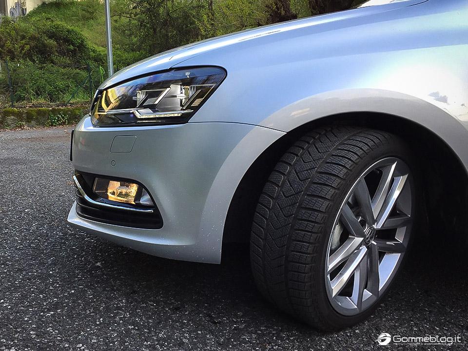 Pneumatici Invernali VW Polo: Test Gomme Pirelli Sottozero 3 17