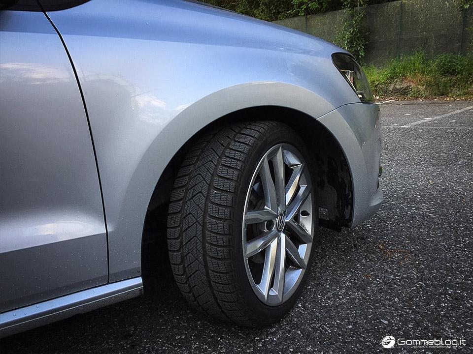 Pneumatici Invernali VW Polo: Test Gomme Pirelli Sottozero 3 14