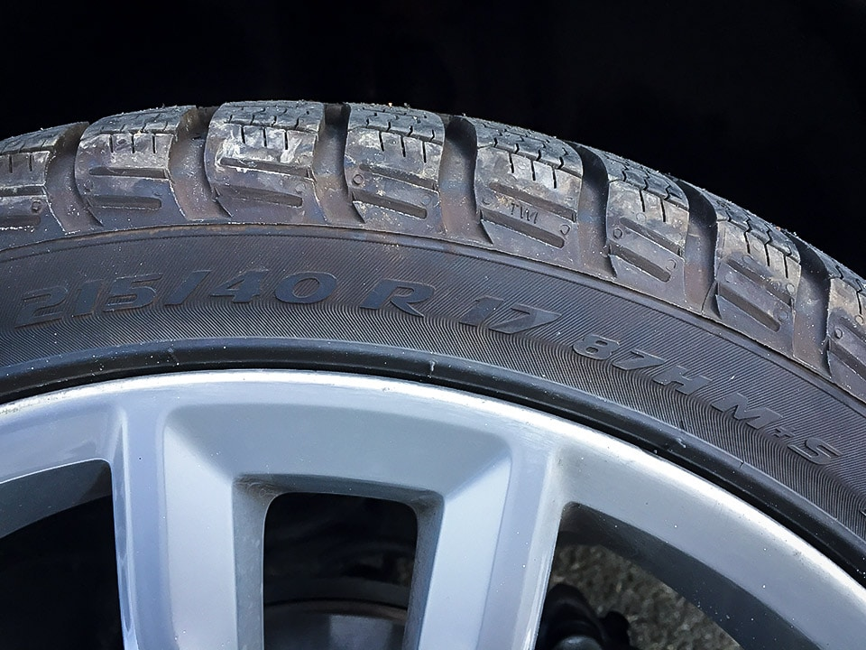 Pneumatici Invernali VW Polo: Test Gomme Pirelli Sottozero 3 4