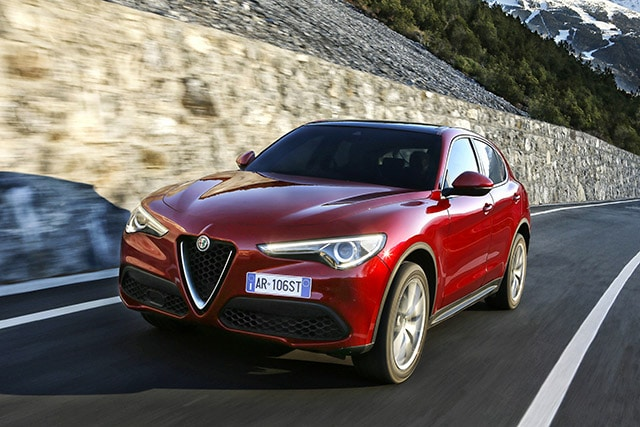 Alfa Romeo Stelvio: Gomme Goodyear UHP Eagle F1 Asymmetric 3 SUV 13