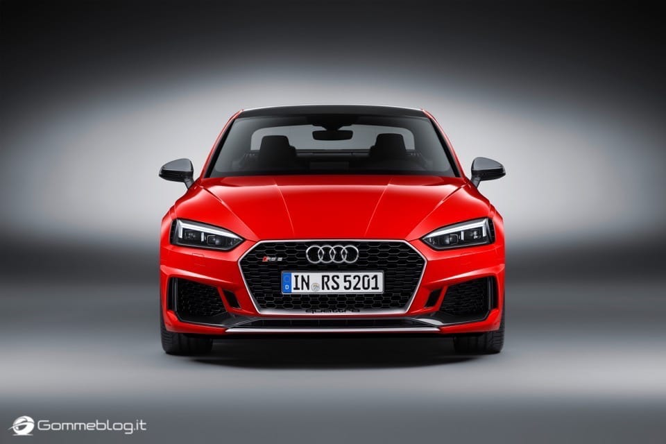 Audi RS 5 Coupé: V6 biturbo 2.9 TFSI, 450 CV e 0-100 in 3,9 sec 1
