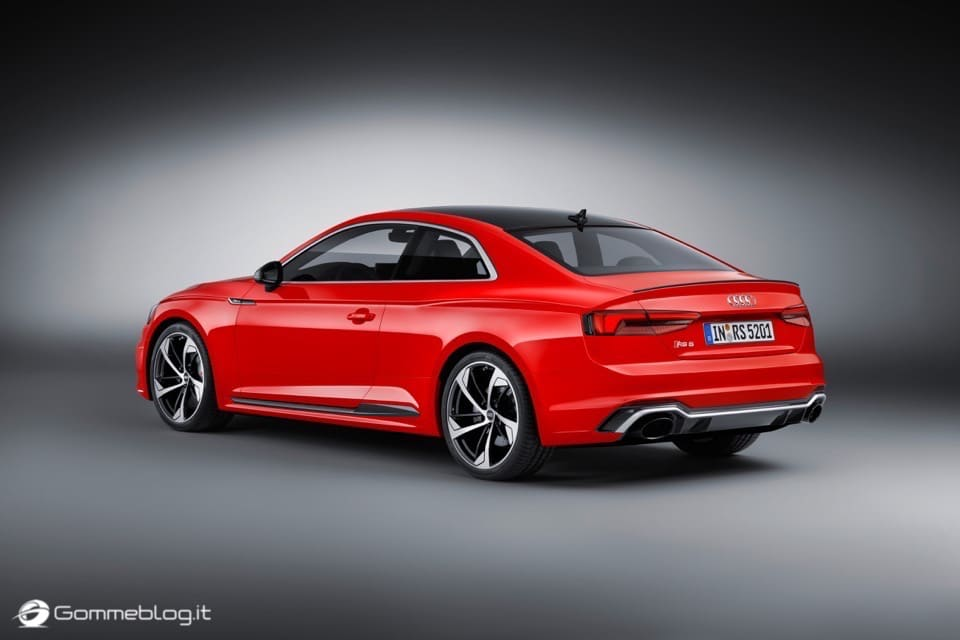 Audi RS 5 Coupé: V6 biturbo 2.9 TFSI, 450 CV e 0-100 in 3,9 sec 59