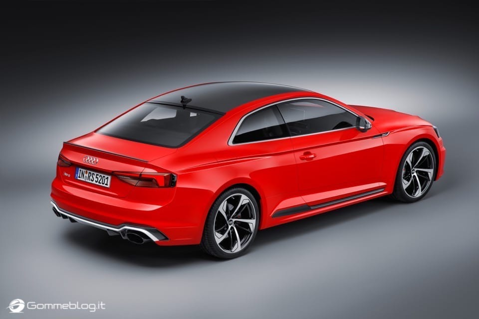 Audi RS 5 Coupé: V6 biturbo 2.9 TFSI, 450 CV e 0-100 in 3,9 sec 4