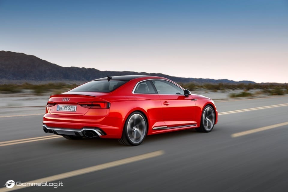 Audi RS 5 Coupé: V6 biturbo 2.9 TFSI, 450 CV e 0-100 in 3,9 sec 52