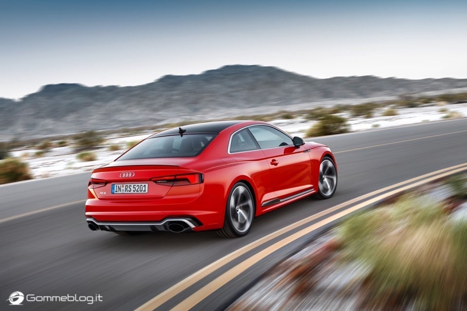 Audi RS 5 Coupé: V6 biturbo 2.9 TFSI, 450 CV e 0-100 in 3,9 sec 51