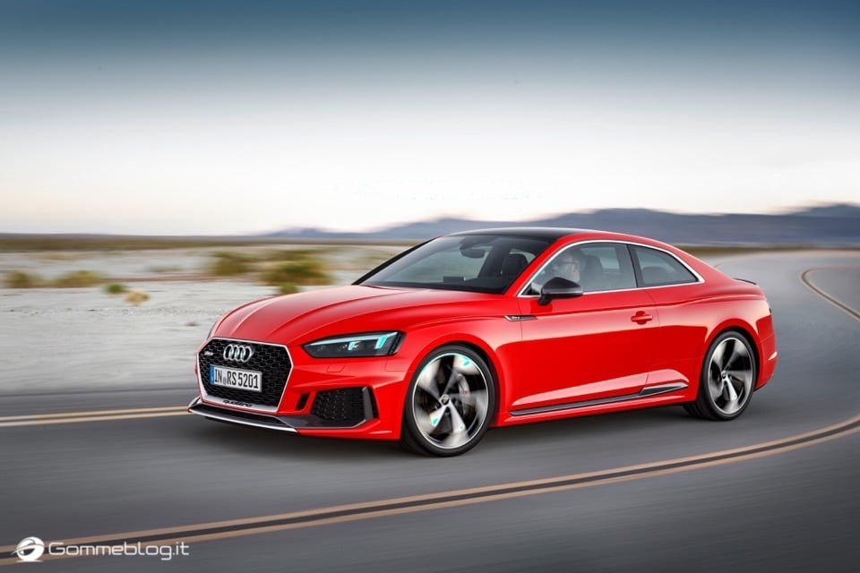 Audi RS 5 Coupé: V6 biturbo 2.9 TFSI, 450 CV e 0-100 in 3,9 sec 48