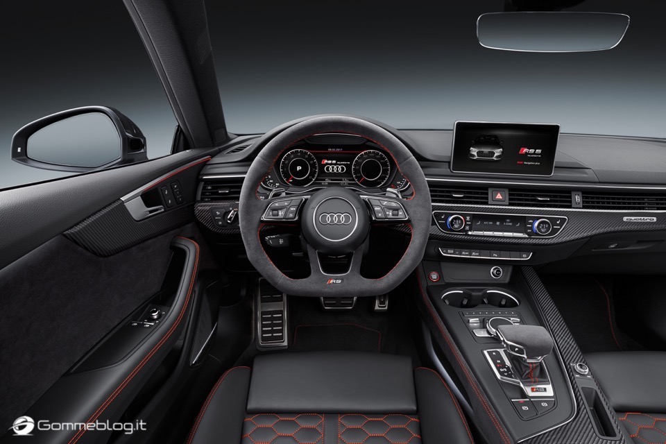 Audi RS 5 Coupé: V6 biturbo 2.9 TFSI, 450 CV e 0-100 in 3,9 sec 39