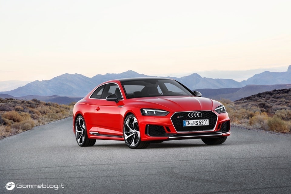 Audi RS 5 Coupé: V6 biturbo 2.9 TFSI, 450 CV e 0-100 in 3,9 sec 30