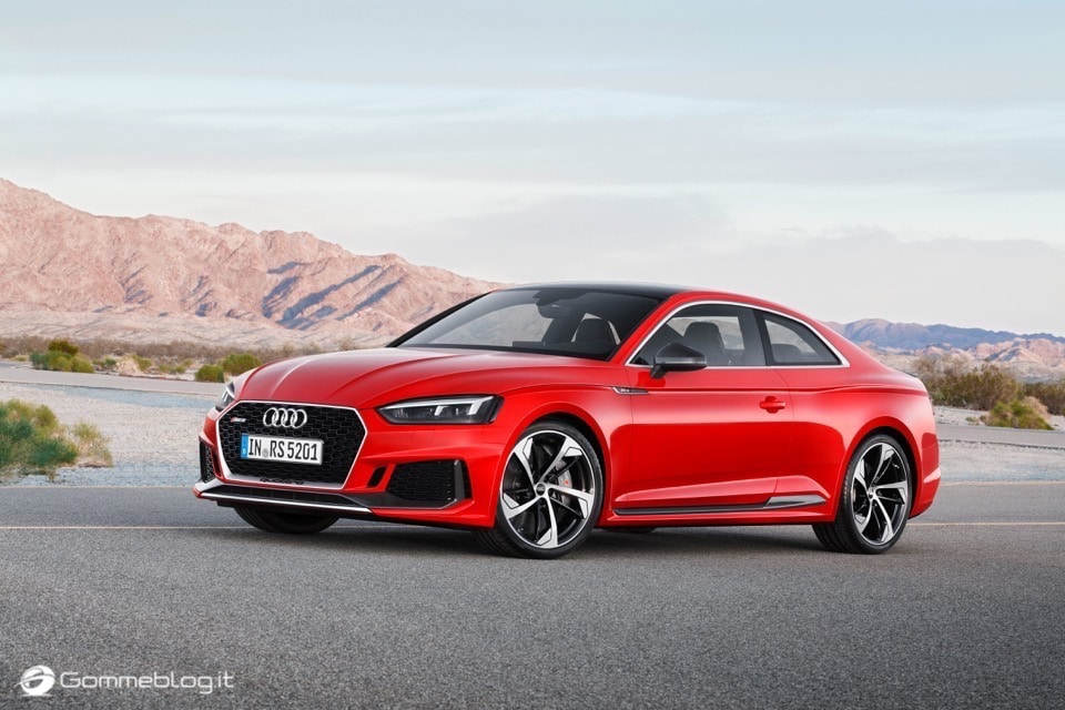 Audi RS 5 Coupé: V6 biturbo 2.9 TFSI, 450 CV e 0-100 in 3,9 sec 11