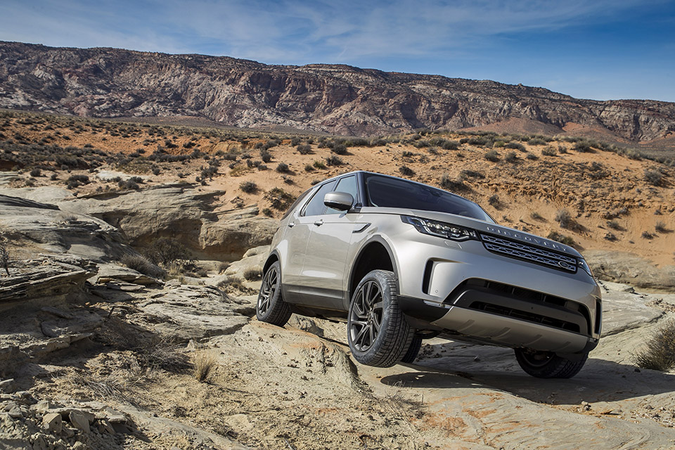 Pneumatici SUV Goodyear per SUV Jaguar F-Pace, Land Rover Discovery e Range Rover Velar