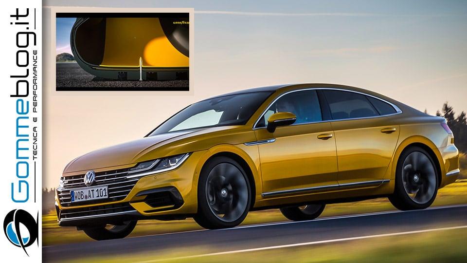 Pneumatici Volkswagen: Goodyear SealTech per la nuova Arteon