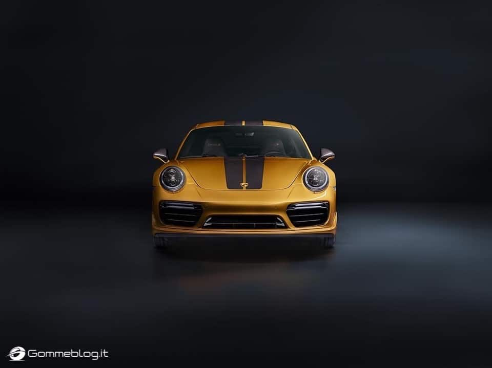 Porsche 911 Turbo S Exclusive Series: VIDEO COME è FATTA 21